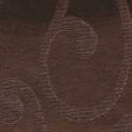 Chocolate Swirl Rectangle Tablecloth for Weddings