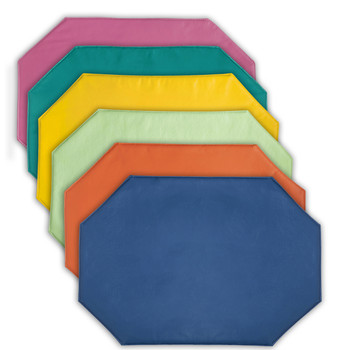 Galaxy Assorted Spring Colors Vinyl Place-Mat