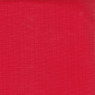 Solid Red Vinyl Tablecloth