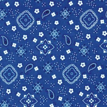 Blue Bandana cloth napkin