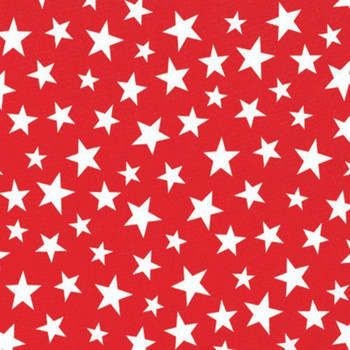 Red White Star Cloth Napkins