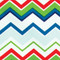 Close Up Chevron Colorful Cloth Napkins