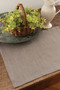 Natural Woven Placemats for Tables in Gray