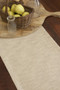 Natural Color Woven Table Runner