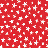 Printed Red Star Tablecloth