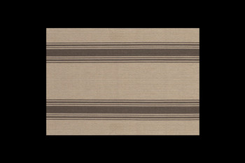 Placemats for Table with Brown Parchment Stripe
