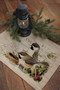 Winter Garden Chickadee Bird Placemats