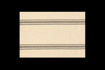 Brown and Neutral Striped Placemat
