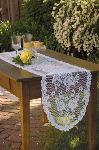Victorian Rose Lace Table Runners