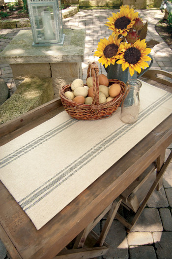 Market Stripe Table Runners
