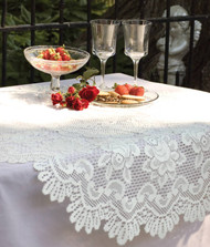 Rose Round Table Toppers