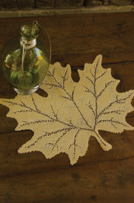 Goldenrod Maple Fall Leaf Placemats