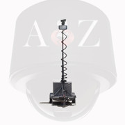A2Z MMST-BG Ground Radar 4G PTZ Surveillance Trailer