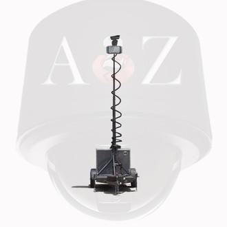 A2Z MMST-BG Ground Radar 4G PTZ Surveillance Trailer