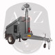 A2Z 4G Dual IR PTZ Solar Security Trailer MMST-EZ3 Grey