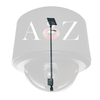 A2Z 50 Watt Solar LED Street Light System 6,500lm