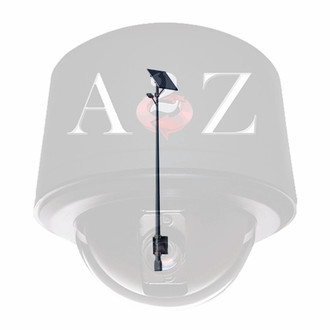 A2Z Solar Powered 20 Watt LED Street Light System 2,800lm SL20EW