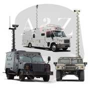 A2Z MSS-VTM Tactical Vehicle Mast Systems for Surveillance and Communications