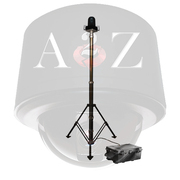 A2Z Tactical Video Telescoping Tripod Wireless Thermal IR PTZ Camera System RWC-PT3