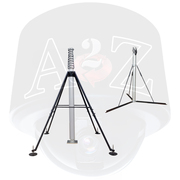 A2Z Portable Tripod Quad-pod Tactical Telescopic Locking Pneumatic Masts