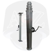 A2Z WM & AWM Mechanical Manual Winch Telescopic Mast Systems
