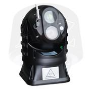 A2Z VPTZL923 Vehicle Rugged Mobile Laser IR HD PTZ IP Camera Wiper in Black