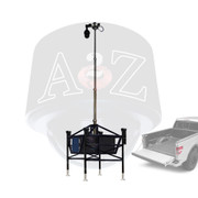 A2Z M3SP Modular Mobile Telescopic Mast Surveillance Platform for easy truck bed transport