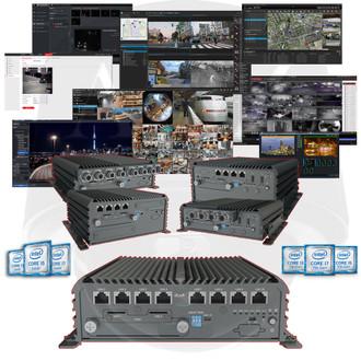 A2Z MOBILE-PC-P3ix Rugged i3 i5 i7 PC NVR DVR VMS CMS Pro AV Systems OPEN PLATFORM - Windows - Linux