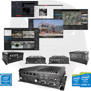 A2Z MOBILE-PC-6ix i3/i5/i7 Rugged PC NVR DVR VMS CMS Pro AV Systems