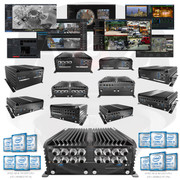 A2Z Rugged PC NVR DVR VMS CMS Pro AV Systems MOBILE-PC-6ix  i3 i5 i7 Series