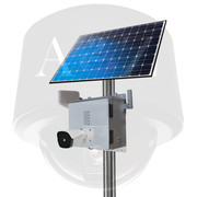 A2Z 4G Wireless Solar Powered Thermal IR Imager Camera Systems SS-TC series (white finish)