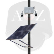 A2Z SS-PTZ-X Solar Powered Wireless 4G Dual (2) IR PTZ Camera System