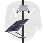 A2Z SS-PTZ-X Solar Powered Wireless 4G Dual (2) IR PTZ Camera System