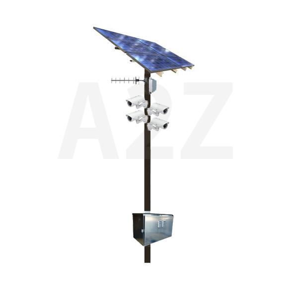 Wireless Solar Megapixel Hd Ir Multi Bullet Camera Systems
