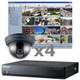 Samsung Indoor Dome Security Camera System