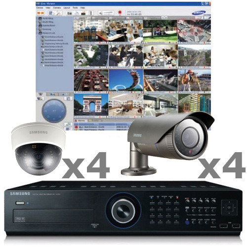 Samsung 8ch Cctv Security Camera System