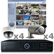 8ch Samsung Security Camera System