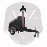 A2Z Solar Power Security Trailer 4G Thermal Radar IR PTZ MMST-EZ3