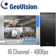 Geovision PC DVR System 480fps Real-time