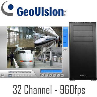 32ch 960fps Geovision PC DVR
