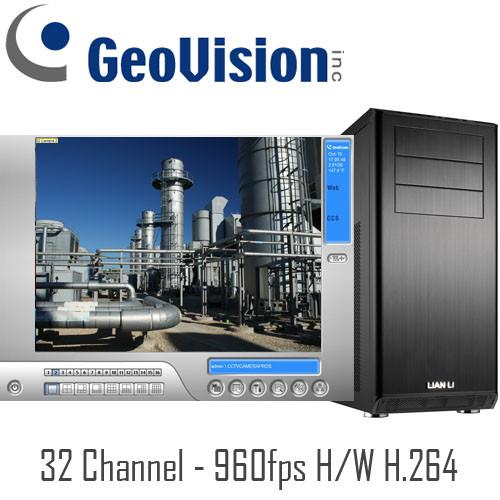 Geovision PC DVR System PCDVR-G50162 32 Channel