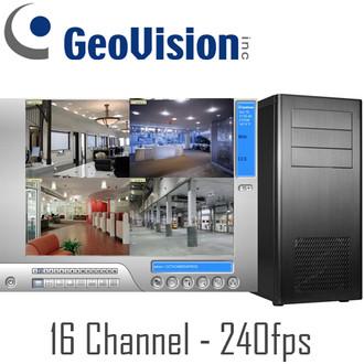 16ch 240fps Geovision PC DVR System