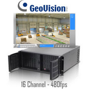 Geovision Rackmount PC DVR System 480fps Real-time 16 channel