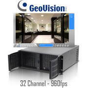 32 Channel Real-time 960fps Geovision Rackmount PC DVR System