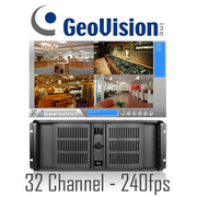 Geovision 32 Channel Rackmount PC DVR System 240fps
