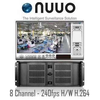 8ch Rackmount PC DVR NUUO