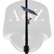 A2Z Solar Wireless IR Bullet Camera System free mount sample SS-IRB