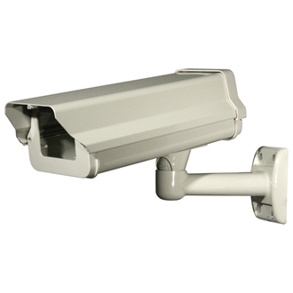 A2Z Outdoor Camera Housing / Enclosure with Heater, Blower and Cable feed-through mount
