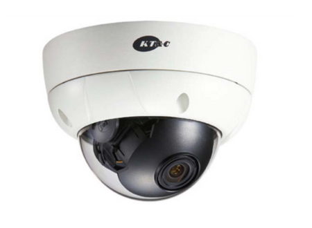 KT&C KPC-VDE101NUV17 CCTV Vandal Dome Camera