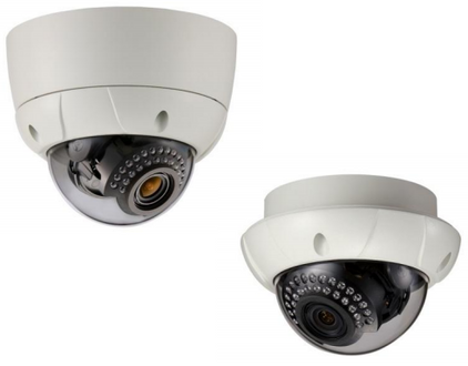 KT&C KPC-VNW101NHV15 Vandal Proof WDR IR Dome Security Camera